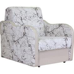 Кресло кровать Шарм-Дизайн Коломбо замша белый