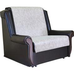 Кресло кровать Шарм-Дизайн Аккорд М замша бежевый