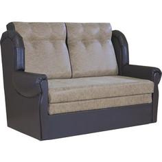 Диван Шарм-Дизайн Классика 2М замша коричневый