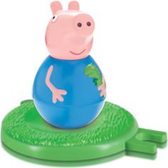 Игровой набор Росмэн Свинка Пеппа Неваляшка Джордж с игровым полем (28802)