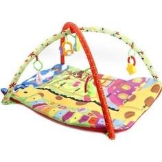 Развивающий коврик Умка жирафик, ростомер с игрушками на подвеске (1609M103-R) Umka