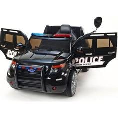 Радиоуправляемый электромобиль CHIEN TI Ford Explorer Police 12V 2.4G черный - CH9935-B