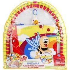 Развивающий коврик Умка пчелка, с игрушками на подвеске (1550452-R) Umka