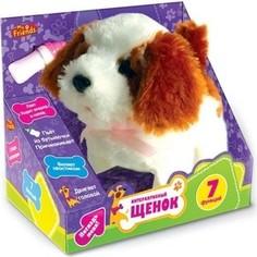 Мягкая игрушка Играем вместе интерактивный щенок My friends (JX-2406)