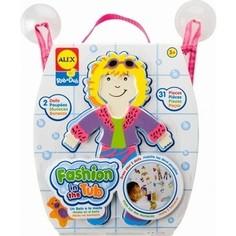 Игрушка для ванны Alex Набор фигурок-стикеров Одень куклу, от 3 лет (806) Alex®