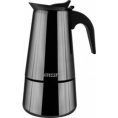 Кофеварка гейзерная Vitesse (VS-2647 Черный)