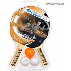 Набор для настольного тенниса Donic CHAMPS 150 (2 ракетки, 3 мячика)