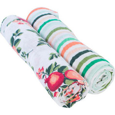 Муслиновые пеленки Bebe Au Lait 2 шт. Ojai / Ribbon