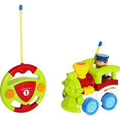 Радиоуправляемая игрушка Жирафики Паровозик, 2 канала (939501)