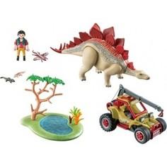 Игровой набор Playmobil Динозавры: Исследовательский транспорт со стегозавром (9432pm)