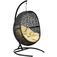 Кресло подвесное EcoDesign Lunar Black Y0068KD