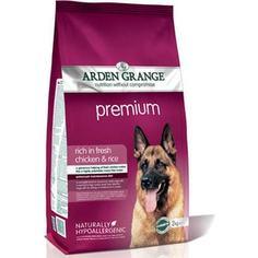 Сухой корм ARDEN GRANGE Adult Dog Premium Hypoallergenic Rich in Fresh Chicken &Rice гипоалергенный с курицей и рисом для взрослых собак 15кг (AG608169)