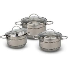 Набор посуды 6 предметов Kelli (KL-4264)