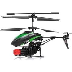 Радиоуправляемый вертолет WL Toys V398 Mini Rocket Gun ИК-управление - WLT-v398
