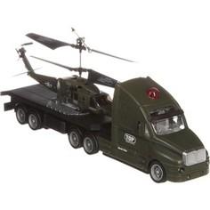 Радиоуправляемый вертолет Joy Toy с гироскопом на грузовике, usb, адаптер P702A - М42380