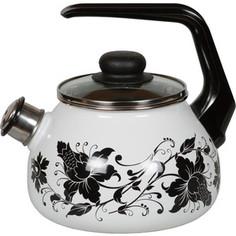 Чайник эмалированный со свистком 2.0 л Vitross Tango 1RA12