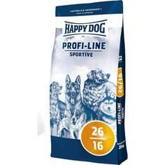 Сухой корм Happy Dog Profi-Line Sportive 26/16 с мясом птицы для взрослых собак с умеренными нагрузками 20кг (02576)