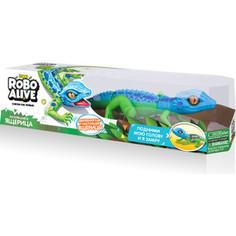 Интерактивная игрушка ROBO ALIVE Робо-ящерица (Син -Зел) (Т10993)