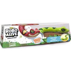 Интерактивная игрушка ROBO ALIVE Робо-змея (Зеленая) (Т10995)