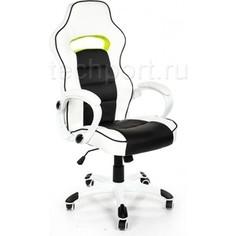 Компьютерное кресло Woodville Lider черно-белое