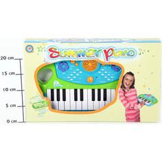 Музыкальный инструмент Potex на батар Синтезатор Summer Piano 25клав арт 658В