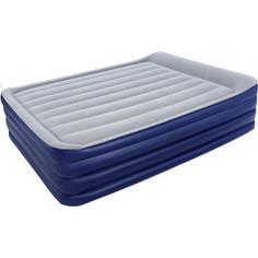 Надувная кровать Bestway 67528 NightRight Raised Air Bed(Queen) 203х 152х56 см со встроенным насосом