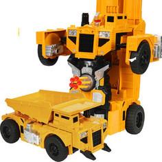 Радиоуправляемый робот MZ Model Радиоуправляемый робот-трансформер Самосвал 1:14, стреляет присосками - 2379PF