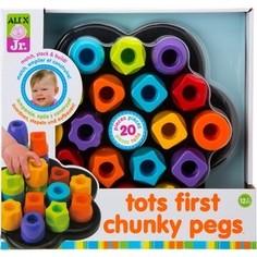 Развивающая игрушка Alex Цветные гаечки, от 18 мес Alex®
