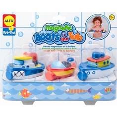 Набор для ванны Alex Игрушка для ванны Магнитные лодочки, от 2 лет. Alex®