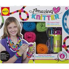 Набор для творчества Alex для вязания украшений на круговом станке, от 8 лет Alex®