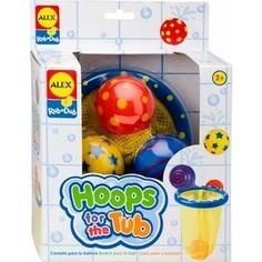 Набор для ванны Alex Игрушки для ванны Мячики в сетке, 4 пр., от 2 лет Alex®