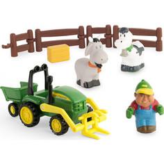 Игровой набор Tomy Моя Первая Ферма Погрузка урожая (ТО43068)