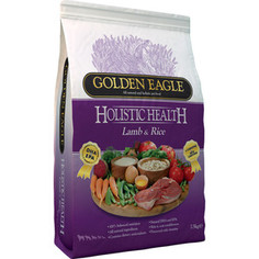 Сухой корм Golden Eagle Holistic Health Lamb with Rice Formula с ягненком и рисом для собак 12кг (233230)