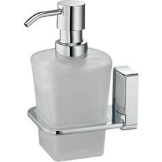 Дозатор жидкого мыла Wasserkraft Leine K-5000 стекло матовое (5099)