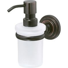 Дозатор жидкого мыла Wasserkraft Isar K-7300 стекло матовое (7399)