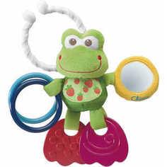 Игрушка-подвеска Chicco развивающая Лягушонок (00906.00)