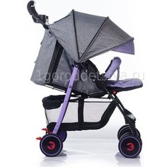 Коляска прогулочная BabyHit Simpy Purple Grey Linen