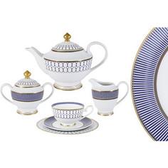 Чайный сервиз 23 предмета на 6 персон Midori Адмиралтейский (MI2-9831-Y3/23A-AL)