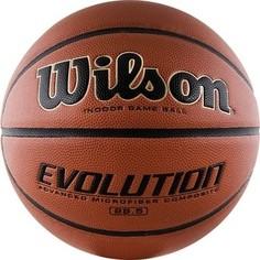 Мяч Wilson баскетбольный Evolution WTB0586 р. 6