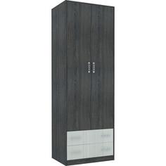 Шкаф гардеробный Комфорт - S Агнетта М10 800 туя темная/туя светлая