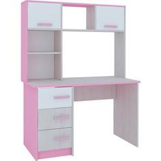 Стол Комфорт - S Агнешка М10 пикар/розовый