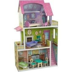 KidKraft Кукольный домик Барби Флоренс (Florence Dollhouse) с 10 предметами мебели (65850_KE)