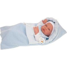 Кукла ANTONIO JUAN Кукла-младенец Нестор в голуб., 42 см