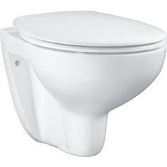 Унитаз подвесной Grohe Bau Ceramic Bundle с сиденьем микролифт (39351000)