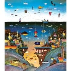 Пазл ООО ДАВИЧИ На суше и на море 2008 серия наивные миры (37204)