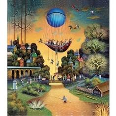 Пазл ООО ДАВИЧИ Летучий голландец 2014 серия наивные миры (37200)