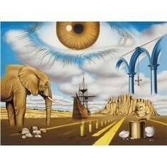 Пазл ООО ДАВИЧИ Величайшее чудо мира серия Философский сюрреализм (37211)