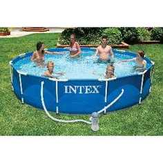 Каркасный бассейн Intex 3.66х0.76м (56996/28212)