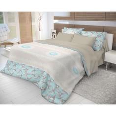 Комплект постельного белья Волшебная ночь 2-х сп, ранфорс, Colibri с наволочками 70x70 (706778)