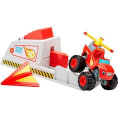 Игрушечная машинка Mattel Blaze Набор Вспыш и пусковое устройство (CGK15)